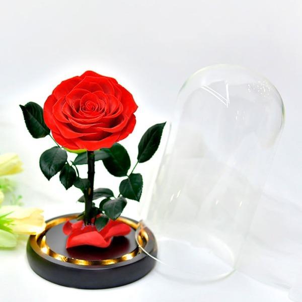 vecna-roza-v-stiklenica-s-podaricna-kutiq-02