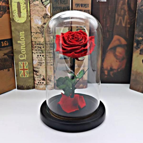 vecna-roza-v-stiklenica-s-podaricna-kutiq-2