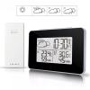Цифров часовник термометър влагомер - Метеорологична станция безжична с външен датчик