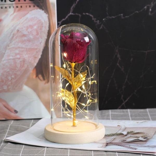 zlatna-roza-v-stiklenica-lilav