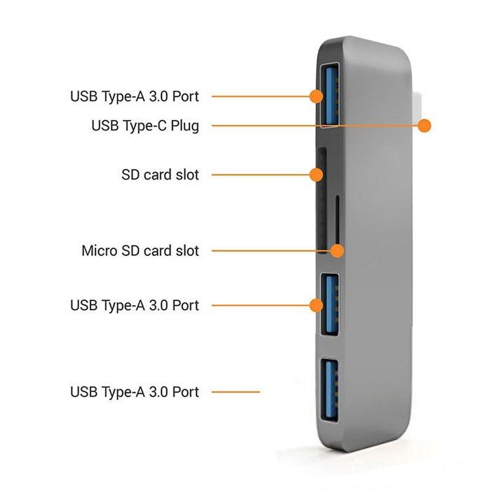 usb-c-hub-adapter-usb-3-1-s-pd-slot-za-sd-i-tf-karti-za-macbook-pro-i-kompyutri-s-usb-c-port-4