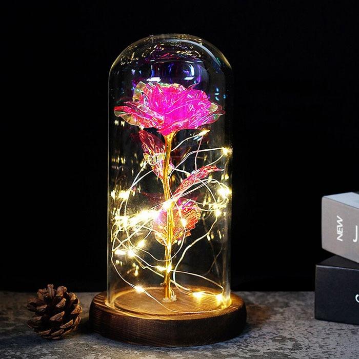luksozna-roza-v-stiklenica-rozova-1