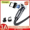 Магнитен кабел зарядно за телефон